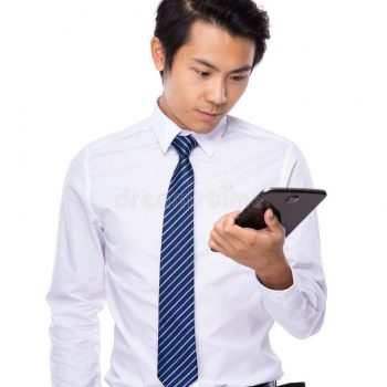 young-business-asian-man-using-his-tablet-isolated-white-background-52550531